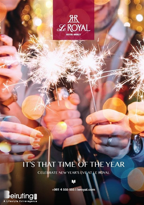 Le Royal Dbayeh Nightlife New Year's Eve at Le Royal Hotel  Lebanon