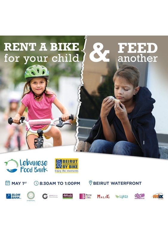 Beirut Waterfront Beirut-Downtown Social Event Rent a Bike for your child and feed another! Lebanon