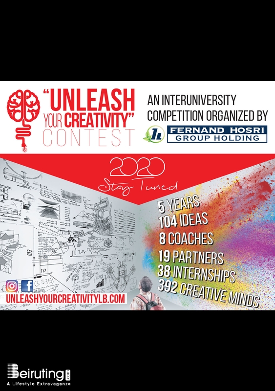Activities Beirut Suburb University Event Unleash Your Creativity Contest Lebanon