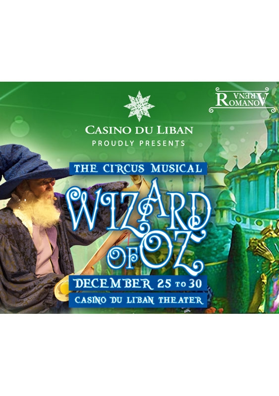 Casino du Liban Jounieh Social Event Wizard Of Oz at Casino Du Liban  Lebanon