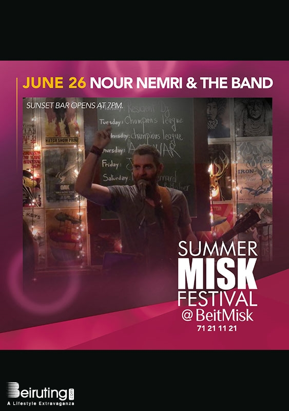 BeitMisk Dbayeh Festival Nour Nemri & The Band at Summer Misk Festival Lebanon