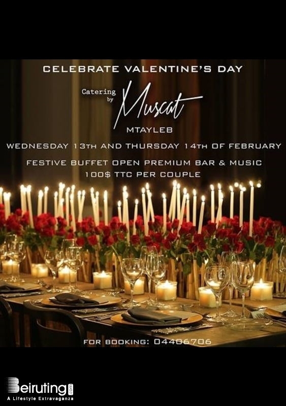 Activities Beirut Suburb Social Event Celebrate Valentine at 'Catering by Muscat' - Mtayleb Lebanon