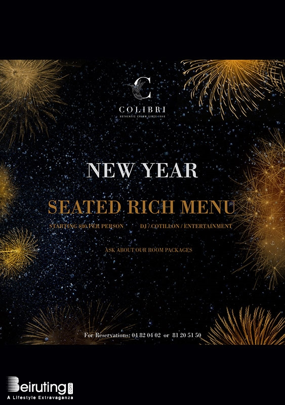 Colibri Hotel   Broumana New Year New Year's Eve by Colibri Hotel Lebanon