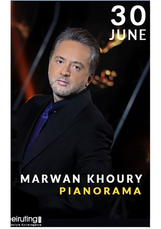 Ghalboun International Festival Jbeil Festival Pianorama by Marwan Khoury Lebanon