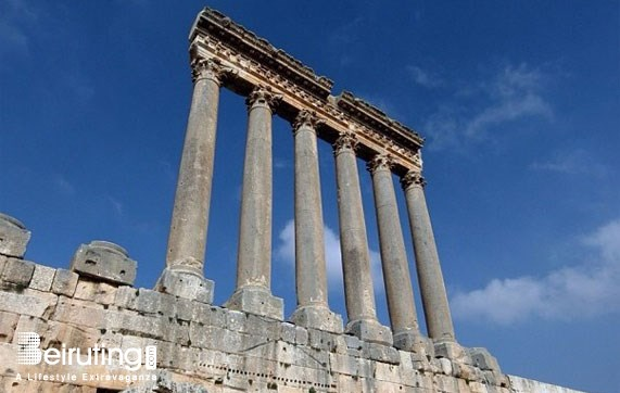 Historic Sites Baalbek Baalbeck Tourism Visit Lebanon