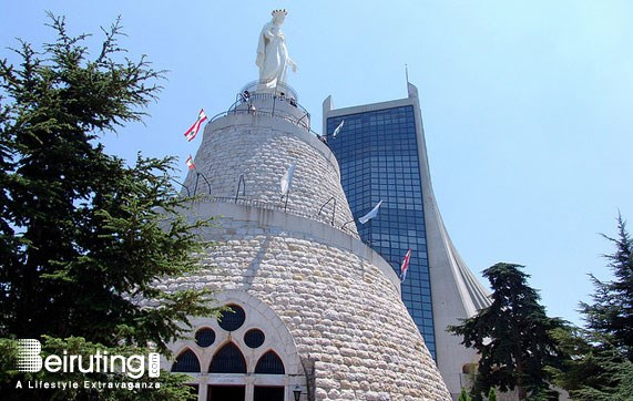Religious Sites Beirut Our Lady of Harissa Tourism Visit Lebanon