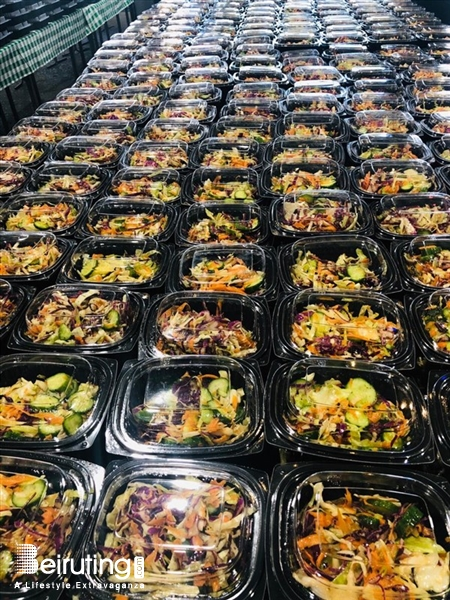 Social Event One Thousand Hot Meals Cooked On World Food Day  Act4Tomorrow Food Awareness Annual Event Lebanon