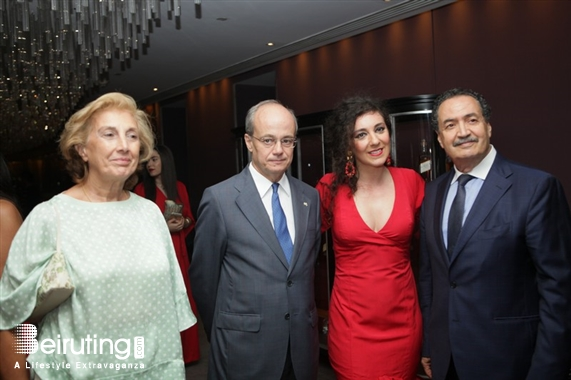 Eau De Vie-Phoenicia Beirut-Downtown Social Event Launching of An Haute Basque Journey Lebanon