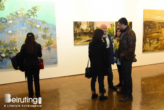 Activities Beirut Suburb Exhibition A Walk in the Paysages Intérieurs of David Daoud Lebanon