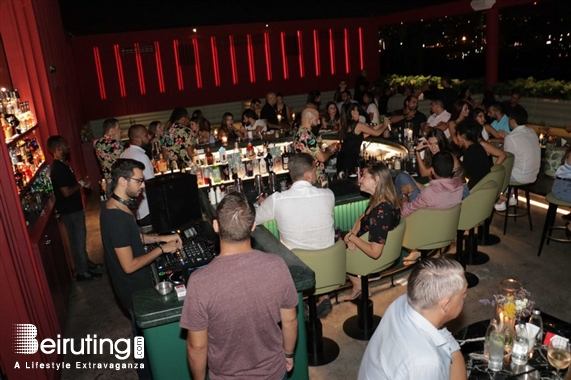 BAU Rooftop Beirut-Downtown Nightlife BAU Beirut on Friday Night Lebanon