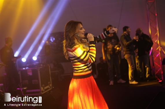 Activities Beirut Suburb Outdoor Showtime Beirut performing at Beirut Christmas Village 2018 organized by BEASTS Lebanon