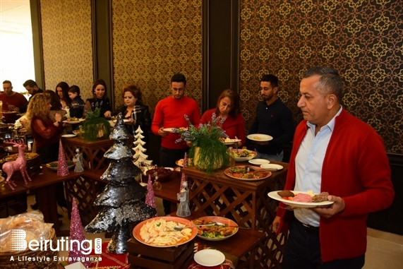 Burj on Bay Jbeil Social Event Christmas Lunch at Byblos Garden Lebanon