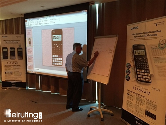 "Le Royal Dbayeh Social Event Launching of CASIO Scientific Calculators ""CLASSWIZ"" series Lebanon"