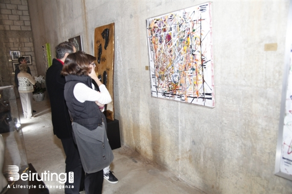 Activities Beirut Suburb Exhibition ITINÉRAIRES - Upcycled Contemporary Art exhibition Lebanon