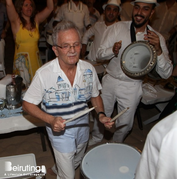 Edde Sands Jbeil Nightlife Birthday of Dr. Edward Abdel Nour Lebanon