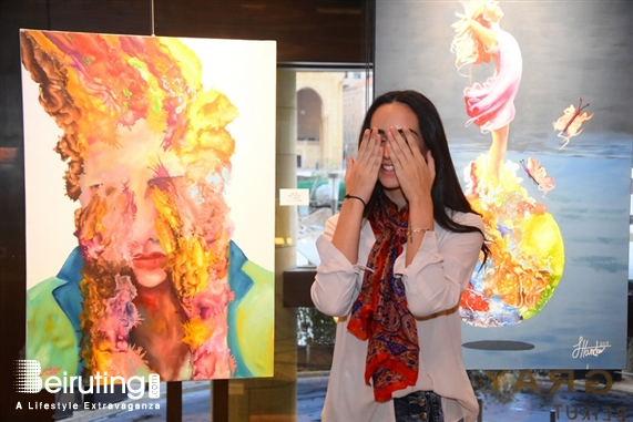 Le Gray Beirut  Beirut-Downtown Exhibition Conflicted Faces Exhibition by Fadwa Hamdan Lebanon