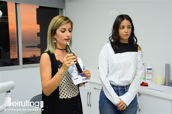 Activities Beirut Suburb Social Event Freetox Event at Pearl Clinica by Carla Lebanon