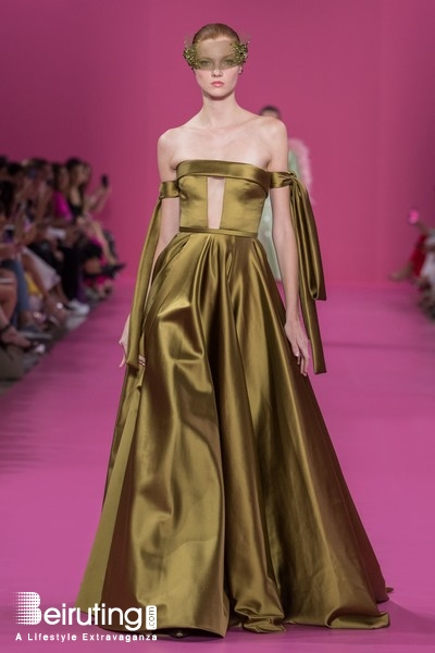 Around the World Fashion Show Georges Hobeika Couture FW19-20 Collection Lebanon