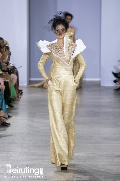 Around the World Fashion Show Georges Chakra Fall Winter 2019-2020 Couture collection Lebanon