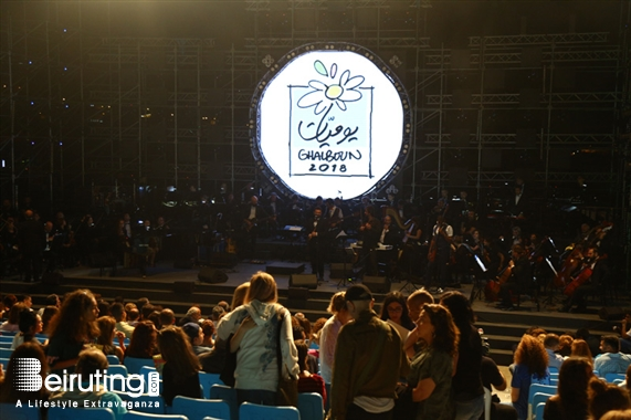 Ghalboun International Festival Jbeil Festival Ghalboun Festival opening Radio at The Symphony Lebanon