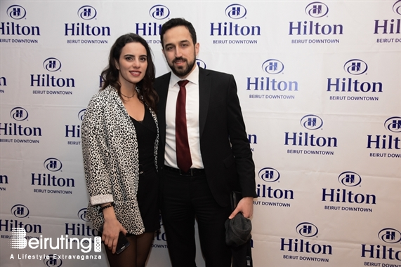 Hilton Beirut Downtown Beirut-Downtown Social Event Hilton Beirut Downtown Media Event Lebanon