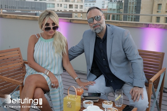 Hilton Beirut Downtown Beirut-Downtown Nightlife The Wet Deck Sunset Party Lebanon