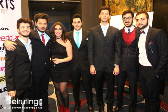 Le Bristol Beirut Suburb Social Event USJ Faculty of Medicine Christmas Gala Dinner  Lebanon