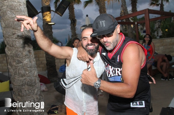 Riviera Beach Party Cafe Mambo Ibiza in Beirut Lebanon