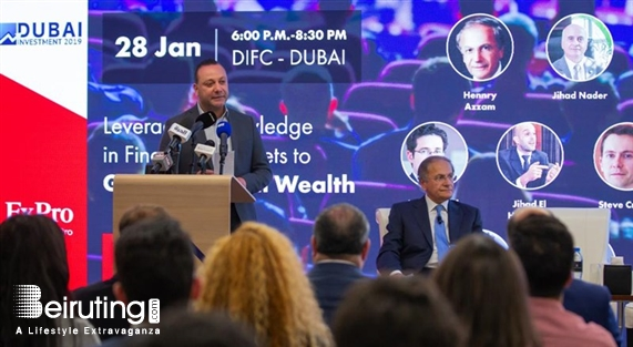 Around the World Social Event Leveraging knowledge in Financial Markers to Grow Personal Wealth  Lebanon