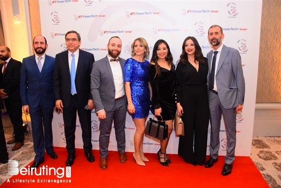 Activities Beirut Suburb Social Event  25th Anniversary Celebration - Gala Dinner – of IPT POWERTECH GROUP Lebanon