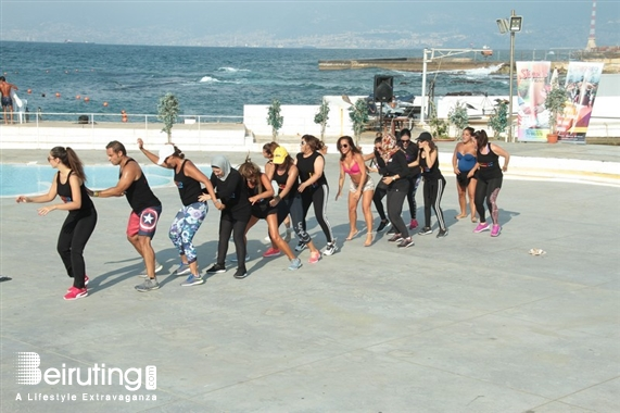 Riviera Outdoor ichoreo 1st official event at Riviera Lebanon