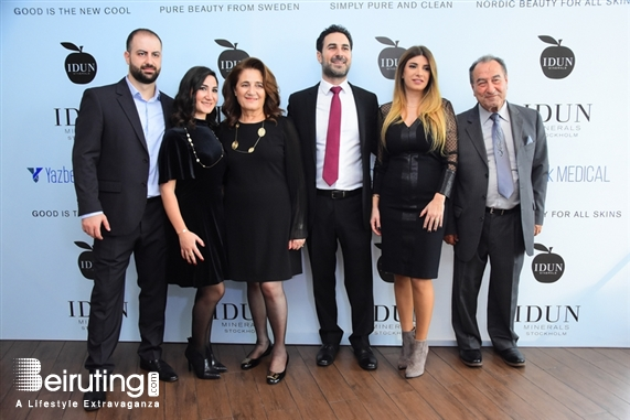 Eau De Vie-Phoenicia Beirut-Downtown Social Event Launching of Idun Minerals in Lebanon - Brunch Lebanon