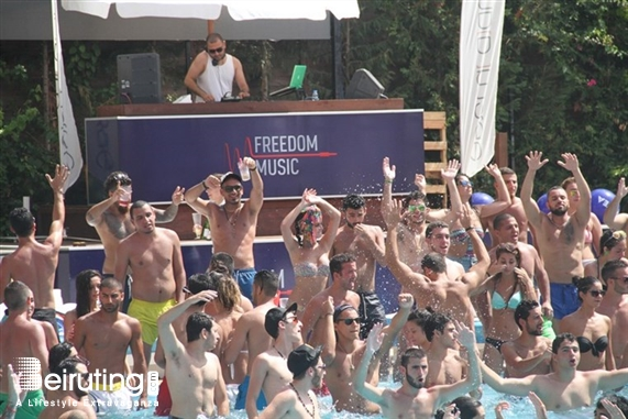C Flow Jbeil Beach Party Keith Thompson at C Flow Lebanon