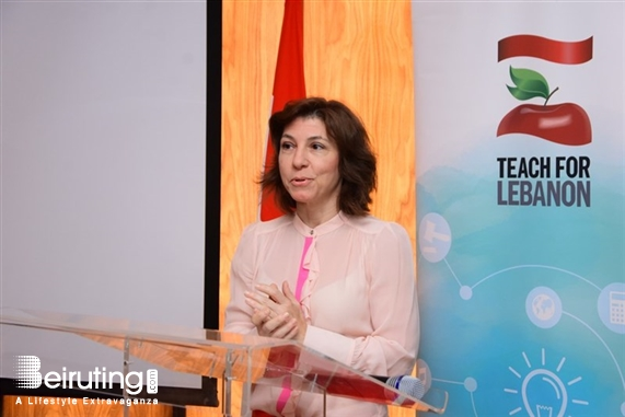 Le Gray Beirut  Beirut-Downtown Social Event Teach For Lebanon celebrates champions of quality education in Lebanon Lebanon