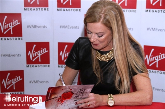 Virgin Megastore Beirut-Downtown Social Event Book Signing of Liés Par Le Sang by Marie Josée Poisson  Lebanon