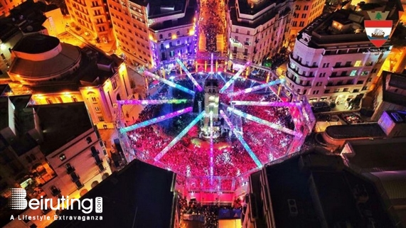 Activities Beirut Suburb Outdoor NYE at Nejmeh Square organized by BEASTS Lebanon
