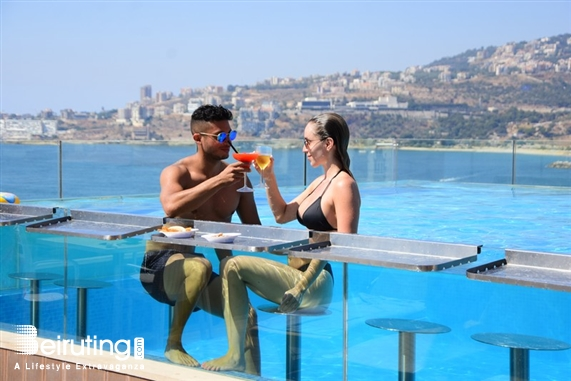 Princessa Hotel Jounieh Outdoor A day by the pool-Le View Rooftop Lebanon