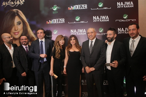 Phoenicia Hotel Beirut Beirut-Downtown Social Event Najwa Karam signs contract with Rotana Lebanon