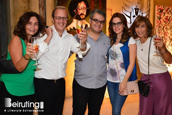 Activities Beirut Suburb Social Event Opening of URBAN DAWN VOL II Exhibition Lebanon