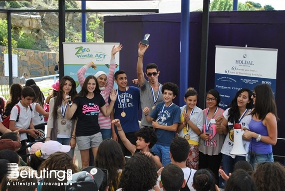 Kroum Ehden Ehden Outdoor Eco Challenge & ART Waste Contest School Members Lebanon