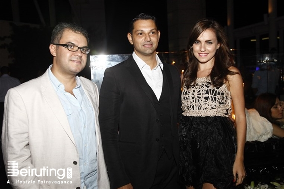 The Roof-Four Seasons Hotel Beirut Suburb Social Event Toni Breiss TB Candle Launching  Lebanon