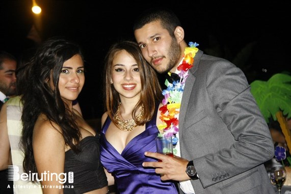 Coral Beach Beirut-Downtown University Event AUB Chemical Engineering 2014 Farewell Lebanon