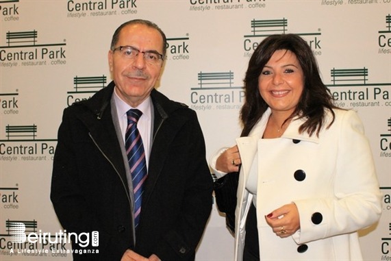 Blueberry Square Dbayeh Social Event Central Park Opening Lebanon