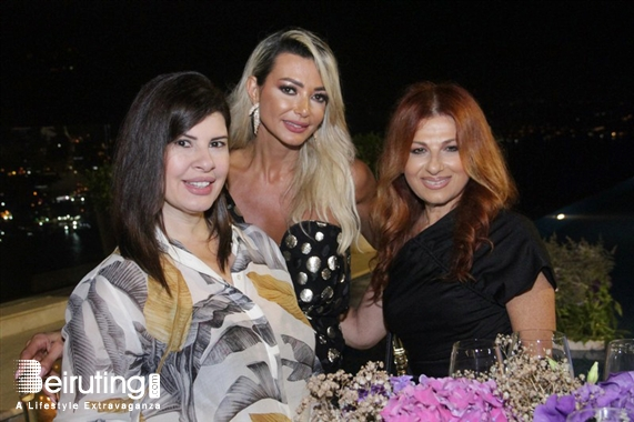 Nightlife Dunia & Issam Zgheib Birthday Dinner Lebanon