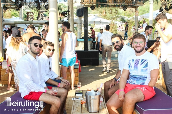 Edde Sands Jbeil Beach Party Sunset Pool Party at Edde Sands Lebanon