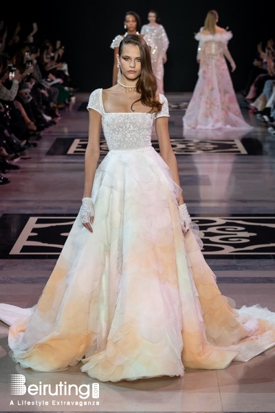 Around the World Fashion Show Georges Hobeika at Paris Fashion week 2019 Lebanon