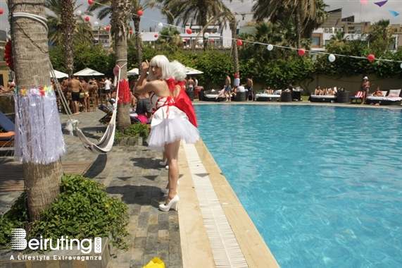 Koa Beach Resort Jounieh Beach Party Candy Land at Koa Beach Resort Lebanon