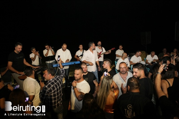 La Taiga Batroun Beach Party Ziad Bourji and Maher at La Taiga Lebanon