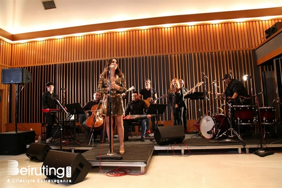 Around the World Social Event Mayssa Karaa launches her music campaign at the historic Capitol Records Tower in Hollywood  Lebanon