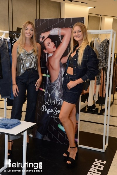 Activities Beirut Suburb Social Event Pepe Jeans Launches Dua Lipa Capsule Collection For Fw19 At Gs Downtown Lebanon